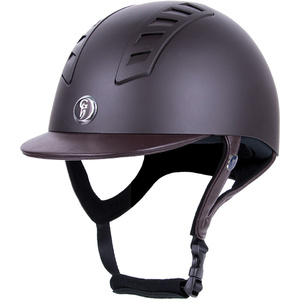 Gatehouse Chelsea Air Flow Pro Riding Hat Matt Brown