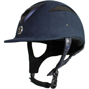 Gatehouse Conquest MK2 Riding Hat Suedette Navy