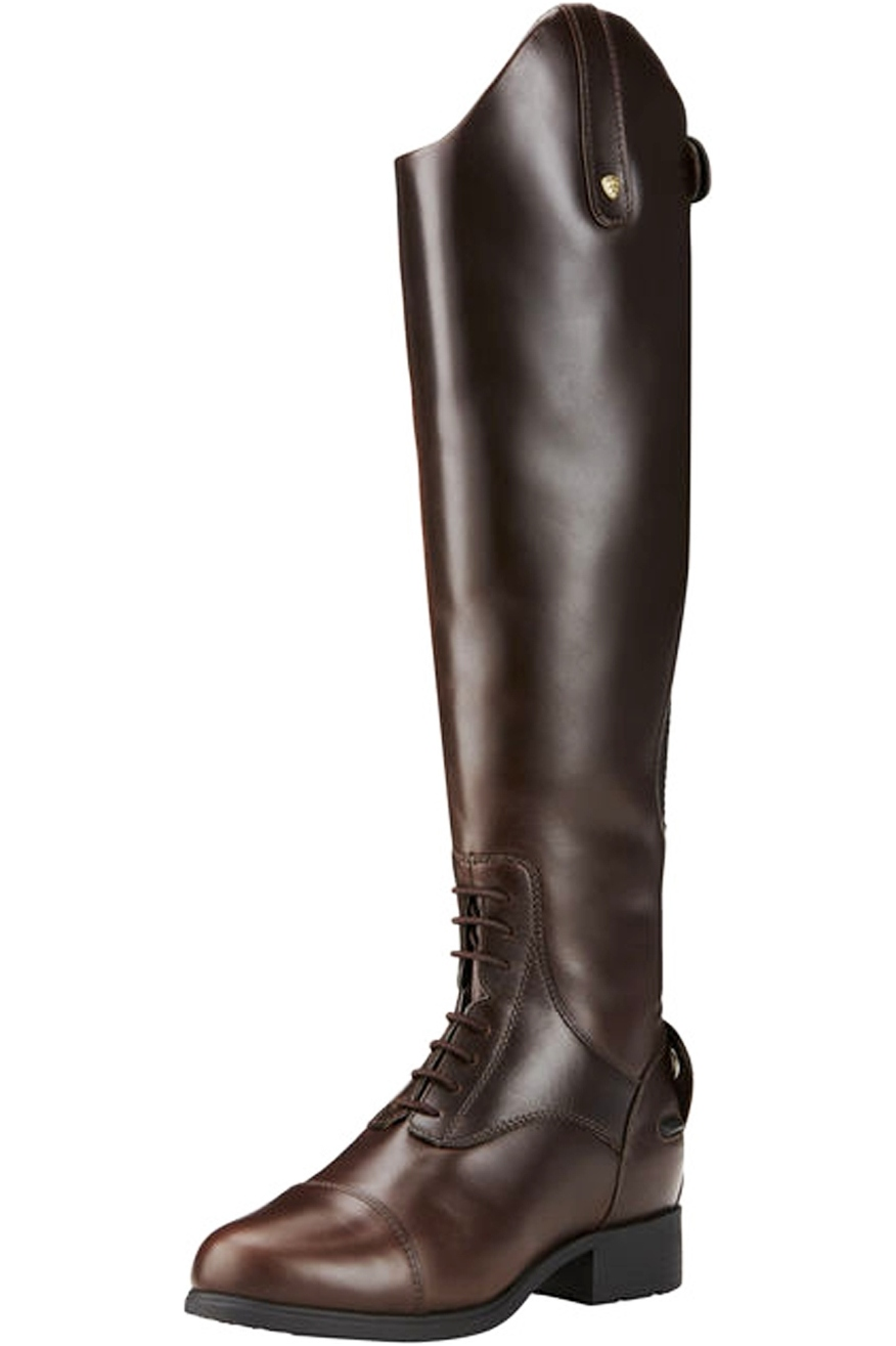 shades of outlet store sale no sale tax Ariat Womens Bromont Pro Tall H2O Insulated Long Riding Boots Waxed  Chocolate