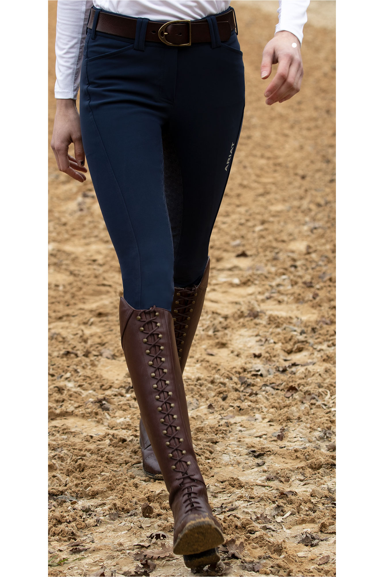 15672df36ab Ariat Womens Capriole Long Riding Boots Mahogany