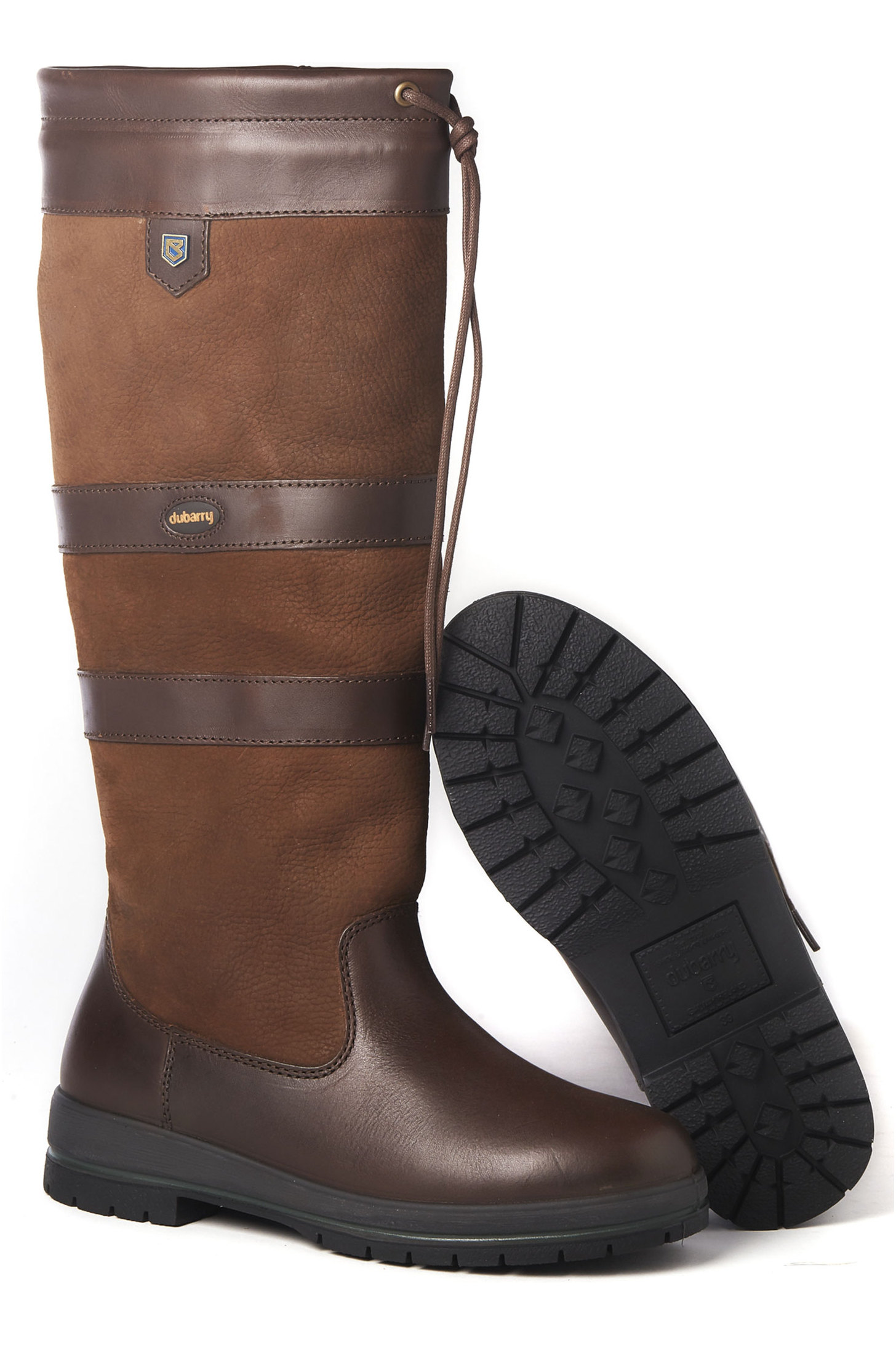 4ee680cbfd8 Dubarry Galway Extrafit Country Boot Walnut