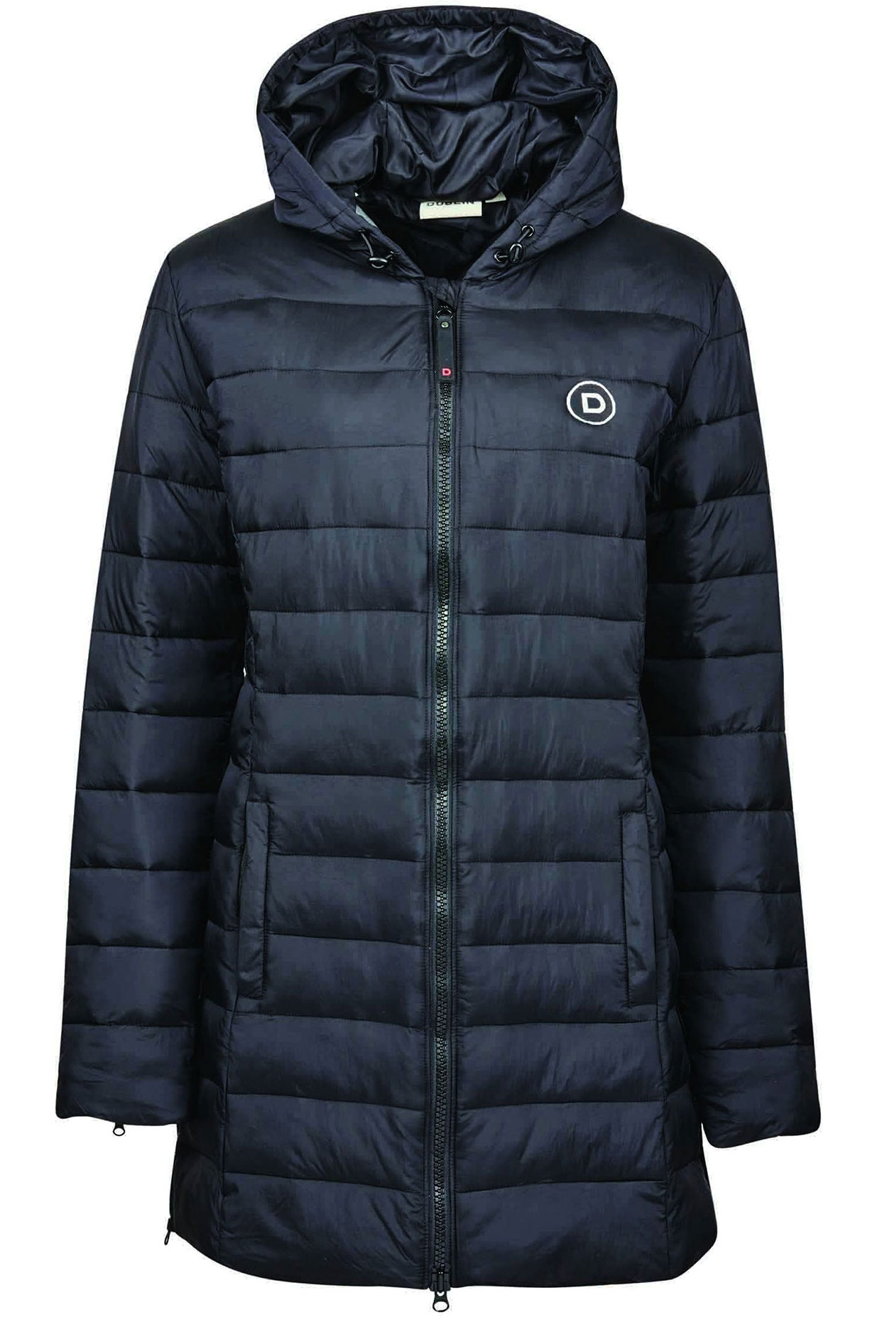 Dublin Womens Nica Puffer Jacket Black