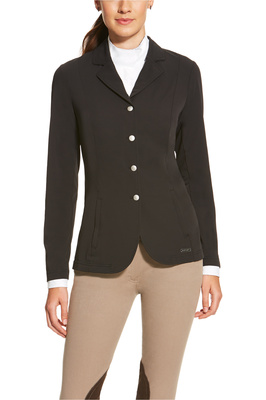 Ariat Womens Artico Lightweight Show Coat Black