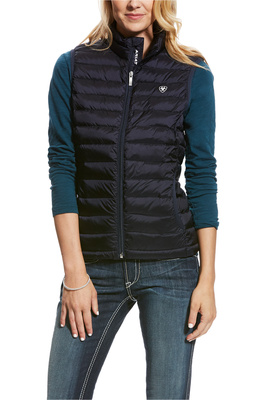 Ariat Womens Ideal Down Gilet Navy