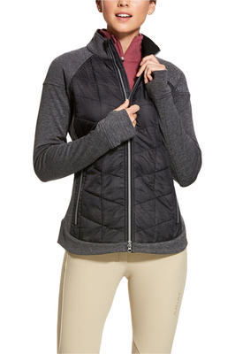 Ariat Womens WoolTEK Jacket - Charcoal Heather