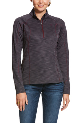 Ariat Womens Conquest 2.0 1/2 Zip Sweatshirt - Nine Iron