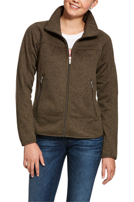 Ariat Womens Sovereign Full Zip Jacket - Banyan Bark