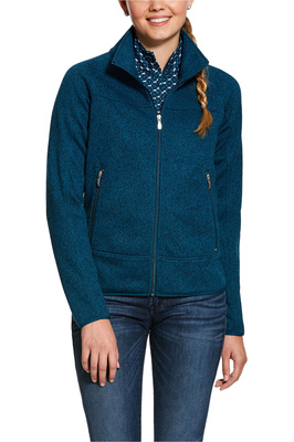 Ariat Womens Sovereign Full Zip Jacket - Dream Teal