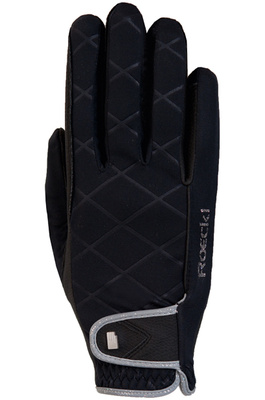 Roeckl Womens Julia Riding Gloves Black