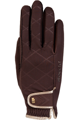 Roeckl Womens Julia Riding Gloves Mocha