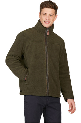Aigle Mens New Garrano Polartec Sheepskin Jacket Bronze