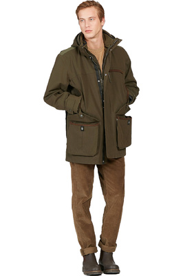 Aigle Mens Courtal 3-in-1 Waterproof Hunting Parka Jacket Bronze