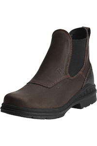 Ariat Womens Barnyard Twin Gore H2O Boots Dark Brown
