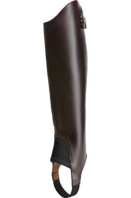Ariat Close Contour Show Chaps Waxed Chocolate