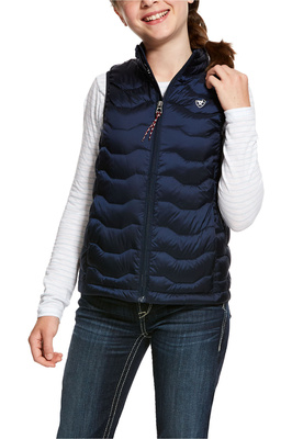 Ariat Girls Ideal 3.0 Down Gilet Navy