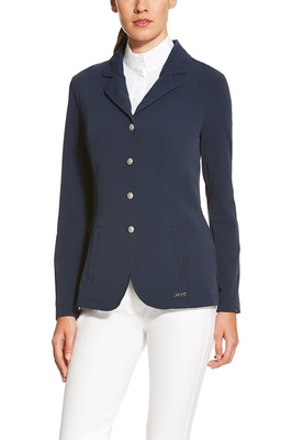 Ariat Womens Artico Lightweight Show Coat Navy