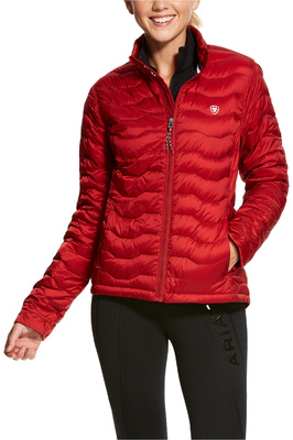 Ariat Womens Ideal 3.0 Down Jacket Laylow Red
