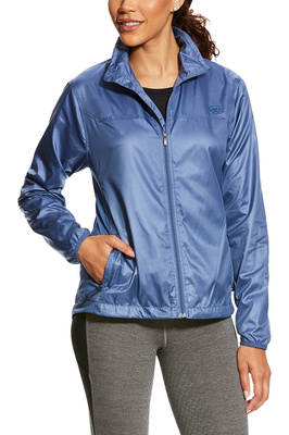 Ariat Womens Ideal Windbreaker Indigo Fade Heather