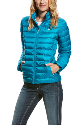 Ariat Womens Ideal Down Jacket Atomic Blue