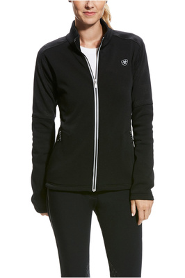 Ariat Womens Sonar Full Zip Jacket Black