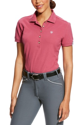 Ariat Womens Prix Polo Rose Violet