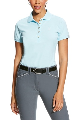 Ariat Womens Prix Polo Sky Drift