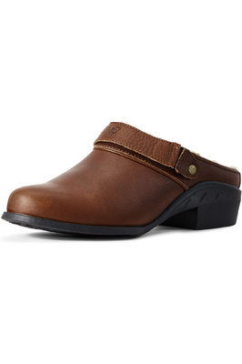 Ariat Womens Sport Slip-On Mule Fur Timber