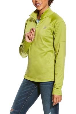 Ariat Womens Tolt 1/2 Zip Lime