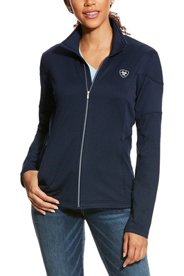 Ariat Womens Tolt Full Zip Fleece Navy
