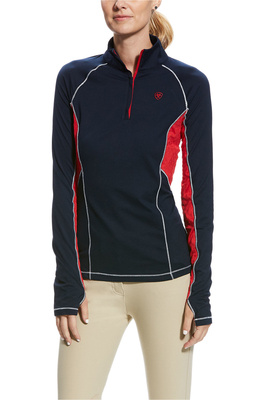 Ariat Womens Lowell 2.0 1/4 Zip Top Team