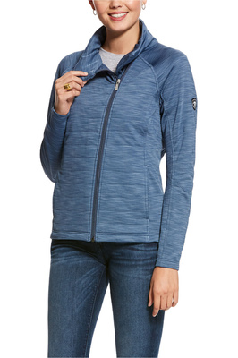 Ariat Womens Vanquish Full Zip Jacket Lake Life