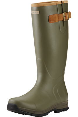 Ariat Mens Burford Insulated Wellies - Olive Green