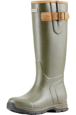 Ariat Womens Burford Wellies Olive Green