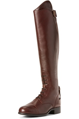 Ariat Womens Heritage Contour II Ellipse Tall Riding Boots Mahogany