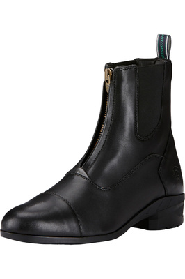Ariat Heritage IV Zip Short Riding Boots Black