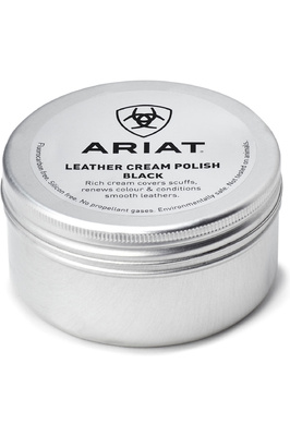 Ariat Leather Cream Polish 100ml - Black