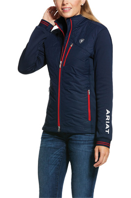 Ariat Womens Hybrid Insulated Water Resistant Team Jacket 10030413 - Navy