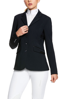 Ariat Womens Mercury Showtek Show Coat 10030559 - Show Navy