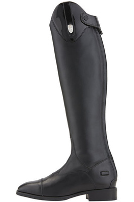 Ariat Womens Monaco Tall Stretch Zip Riding Boots Black Patent