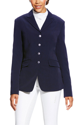 Ariat Womens Palladium Show Coat Navy