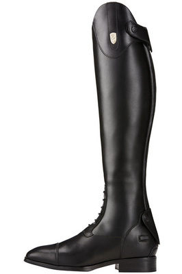 Ariat Womens Tall Monaco Stretch Field Zip Riding Boots Black