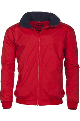 Baleno Typhoon Waterproof Fleece Lined Blouson Jacket Red