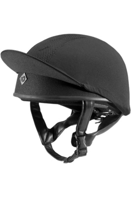 Charles Owen Pro II Plus Round Fit Skull Helmet Black