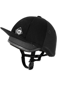 Charles Owen Childrens Young Rider Ventilated Jockey Riding Skull Black