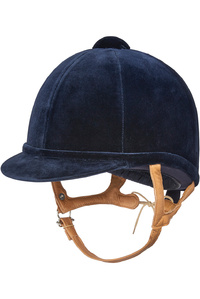 Charles Owen Flesh Fian Hat Navy