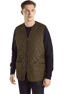 Dubarry Mens Ballygar Gilet Olive
