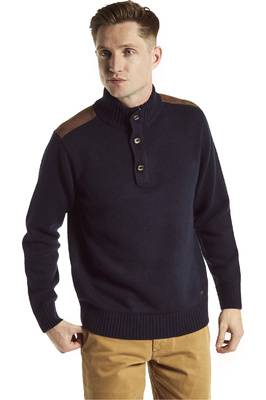 Dubarry Mens Lambert Fleece Top Navy