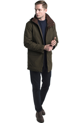 Dubarry Mens Ballywater GORE-TEX Coat Olive
