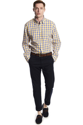 Dubarry Mens Coachford Shirt Sunflower