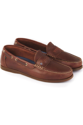 Dubarry Mens Spinaker Deck Shoes Brown